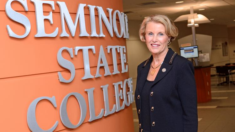 Ann McGee, president, Seminole State College of Florida