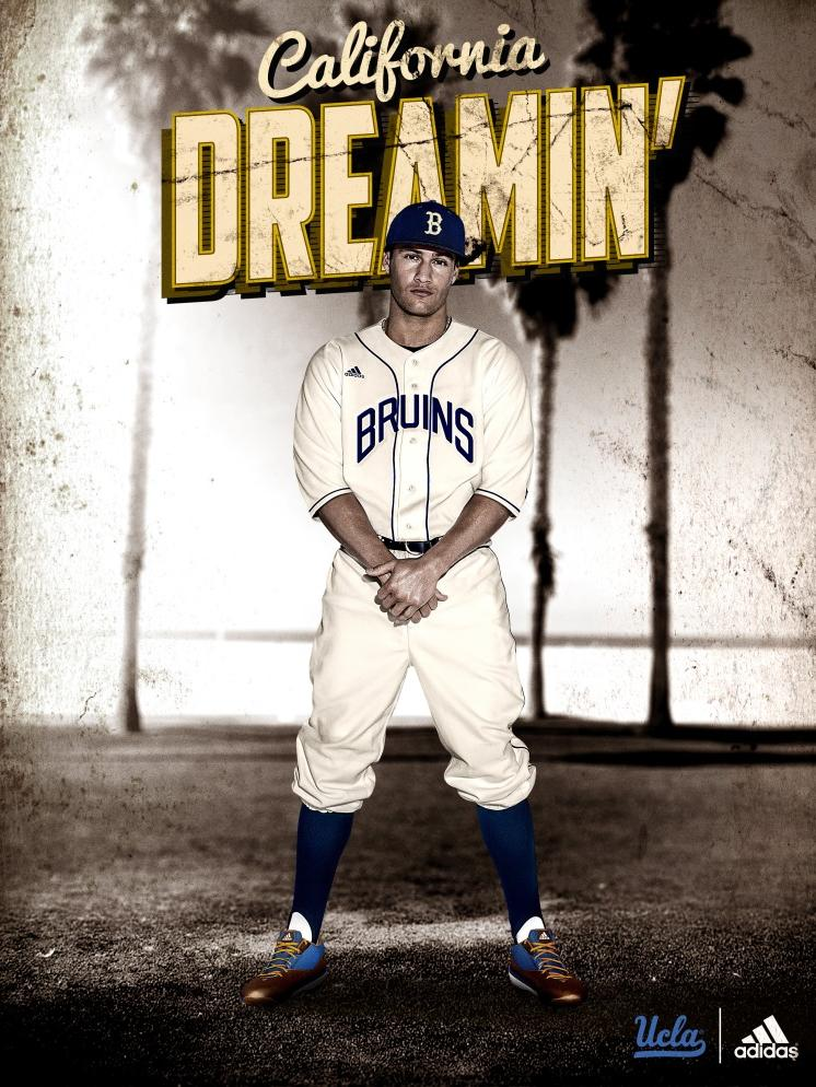 34362437272 UCLA baseball players on Thursday will wear uniforms that honor former  Bruin Jackie Robinson