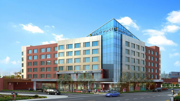 Ensemble Hotel Partners Has Broken Ground On The 175 Room Hyatt Place Next To