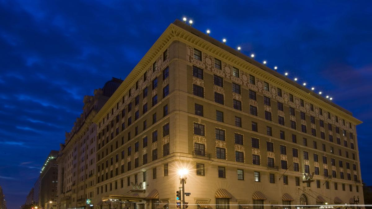 The W Goes Keyless Starwood Hotels Brings Streamlined Check In To D C Video Washington Business Journal