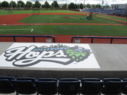The Hillsboro Stadium field awaits fans and players before Monday evening's opening game.
