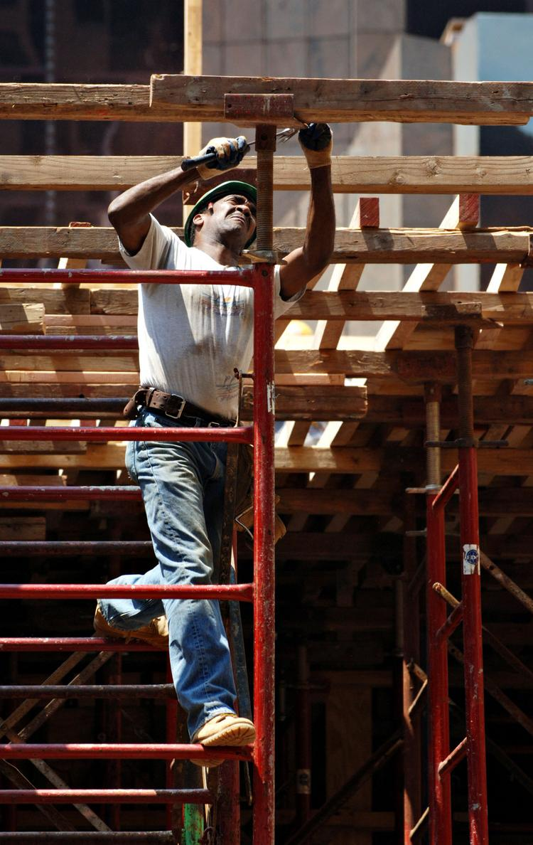 Tennessee's construction employment was flat in May.
