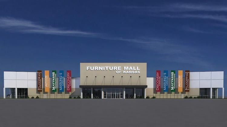 Pictured Is A Rendering Of The Furniture Mall Kansas Which Slated To Open In