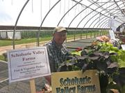 Richard Ball of Schoharie Valley Farms and The Carrot Barn in Schoharie