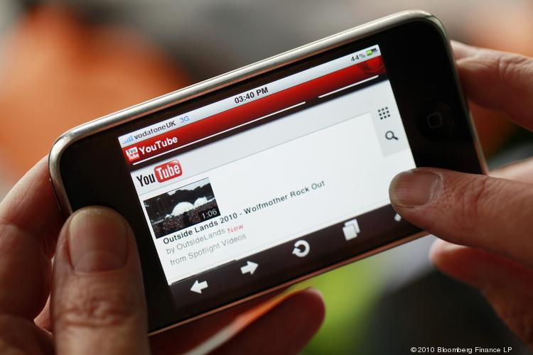 A new study shows that the number of people using their phones to watch videos continues to rise.