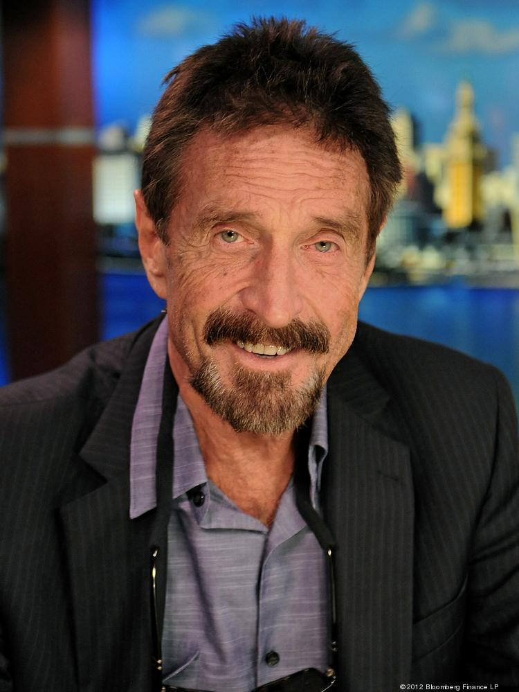 John McAfee is ready for his next adventure.