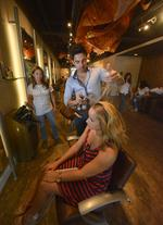 Blow-dry bars sizzle as businesses in summertime heat -- slideshow