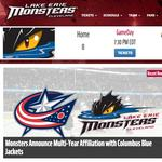 Blue Jackets see business benefits with Lake Erie Monsters affiliation