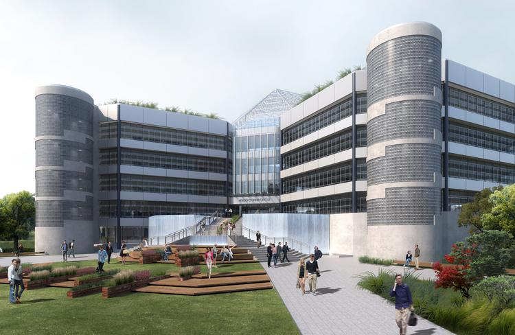 The 601W Cos. is planning to launch a multimillion-dollar renovation of 4000 Connecticut Ave. NW after the building's longtime anchor tenant, Intelsat S.A., relocates to new space in Tysons Corner next summer.