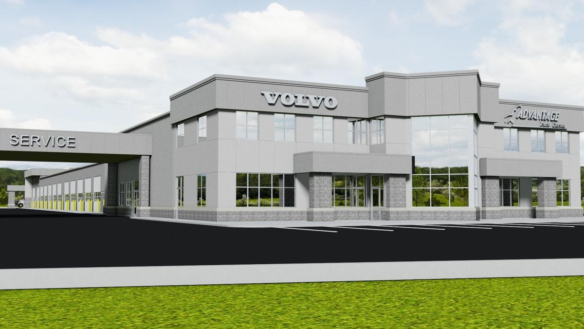 Advantage Truck Center is building a $6.7 million facility nearby Volvo Trucks North America ...