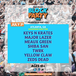 Zeds Dead, Major Lazer, others set to kick off Mad Decent Block Party in Atlanta