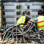 Image of the day: Wiring Raleigh's Lincoln Apartments