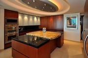 Kitchen in Unit 3501 at Las Olas Grand, Fort Lauderdale
