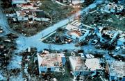 Hurricane Andrew, a Category 5 storm, made landfall near Homestead in August 1992. At the time, its $43.5 billion in financial losses were the largest from any hurricane.