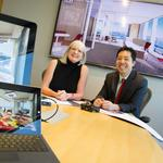 3-D software opens up the next dimension in office interior design
