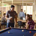 Not your father's bank: Fin-tech startups embrace fun office spaces