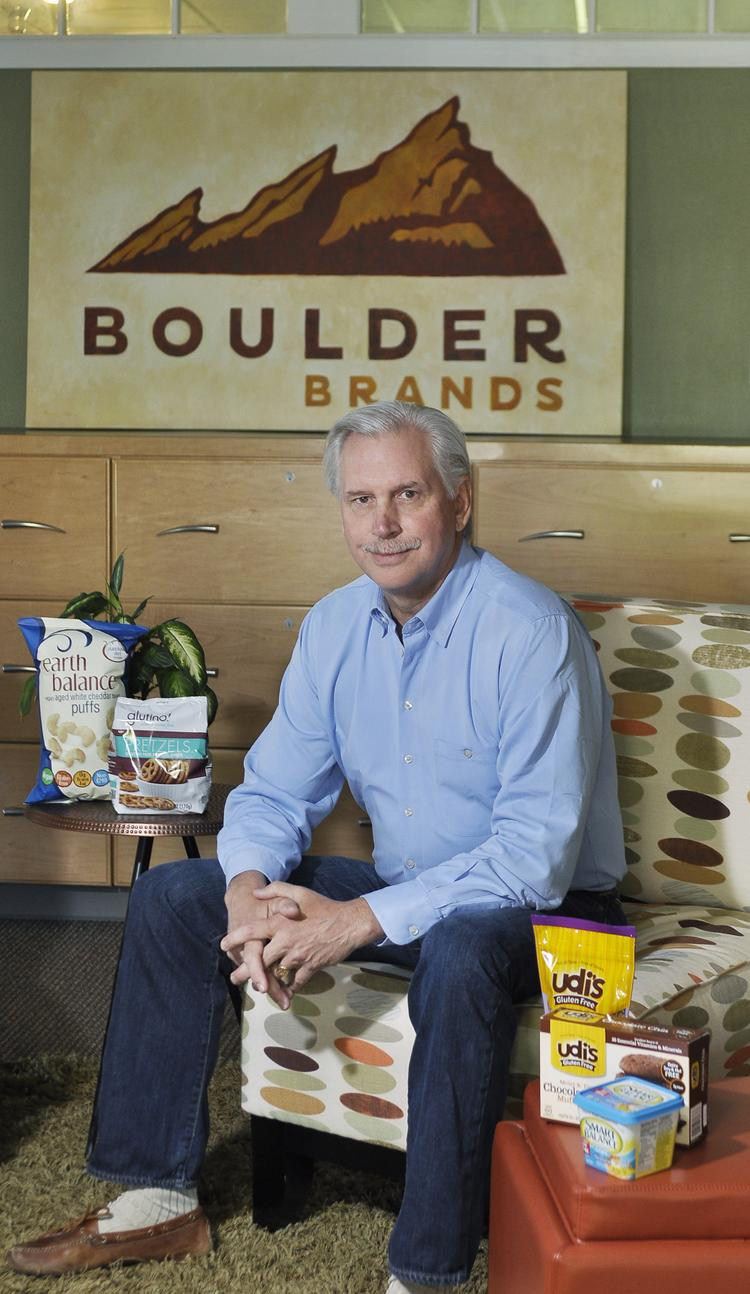 Steve Hughes, CEO and chairman of Boulder Brands.