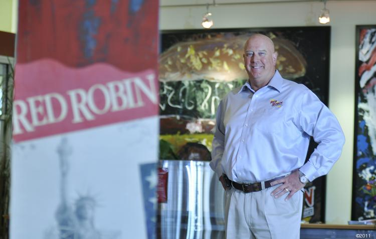 Stephen Carley, CEO of Red Robin