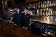 Travis Sheets (left) and his father Steve Sheets discovered the Brass Tap concept in Tampa, Fla.