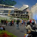 Residents sue city, seeking to bar stadium financing without vote