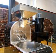 Reverie uses a 40-pound Primo infrared roaster. McNelly says the infrared heating allows for a more even roast.