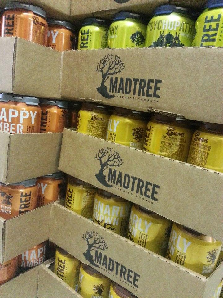 Earlier this year, Mad Tree Brewing Co. began to sell the first canned craft beer in Ohio.