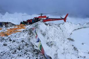 CEO chronicles Nepal quake from Everest base camp
