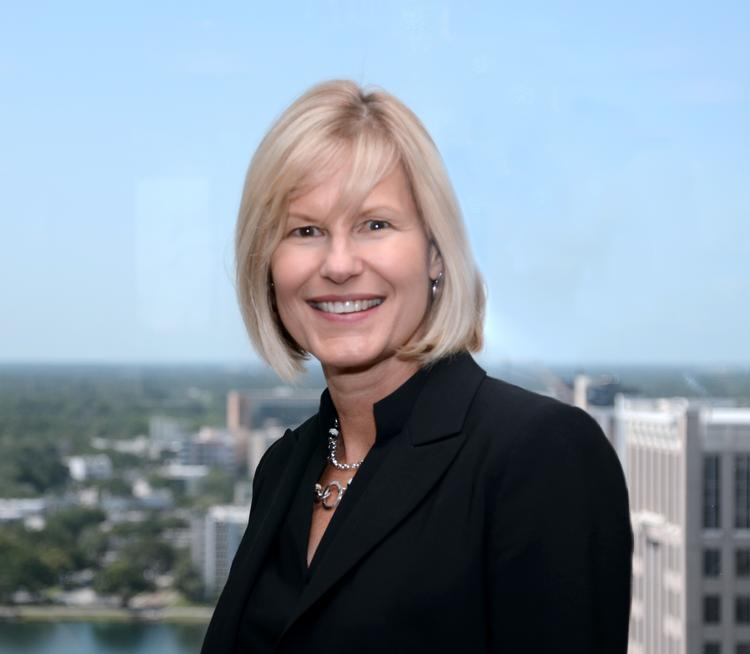Leslie Hielema, vice presidnet of The Orlando Center