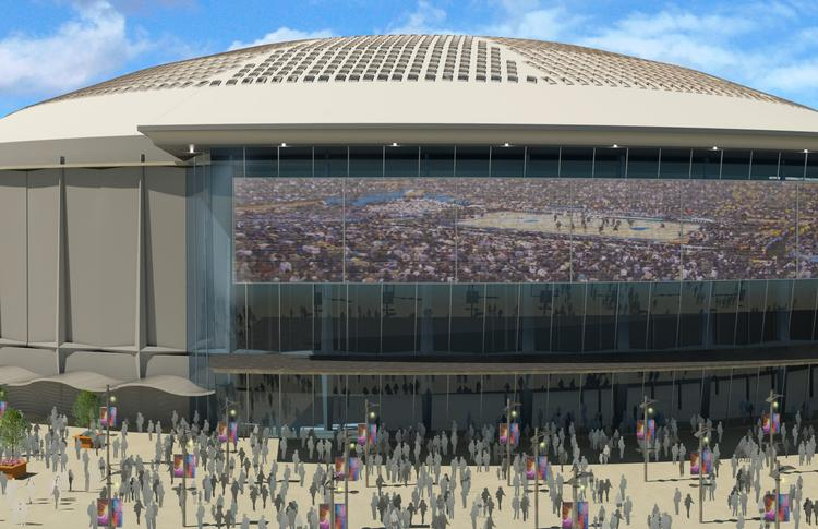 The plan to redevelop the Astrodome will be put to a vote in November.