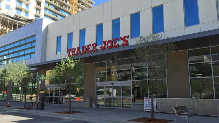 Trader Joe's will open May 1 in the Seaholm LLC development in downtown Austin.