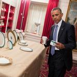 White House state dinner: Kailua blue and Hawaii's governor, too
