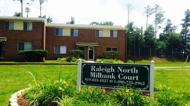 The 150 Unit Milbank Court Apartments And The 80 Unit Raleigh North Apartments  Nearby