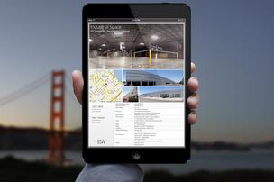 Flyer is an interactive commercial real estate brochure
