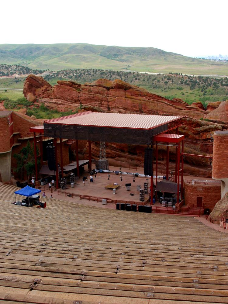 Red Rocks Ampitheatre will be a stop on the comedy tour.