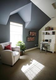 Some of the homes being built at Molly's Walk in Roseville feature an extra room that can be used for various purposes.