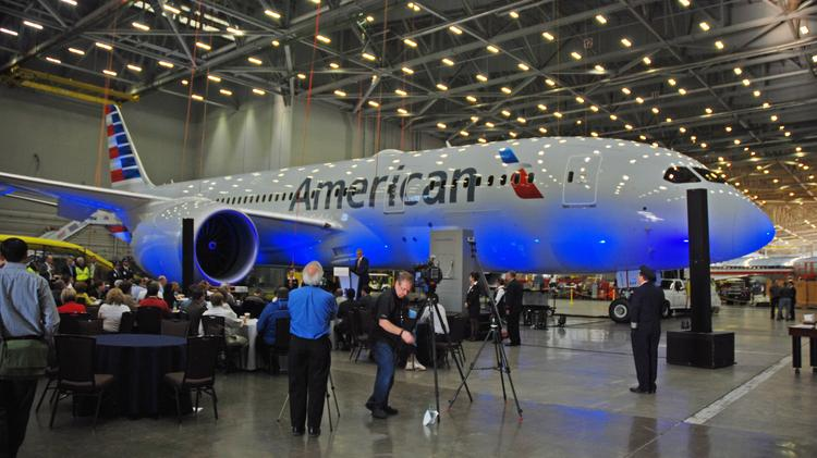 Inside The American Airlines Boeing 787 Dreamliner