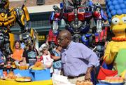 Al Roker had the enviable task of sampling the menu at Fast Food Boulevard. I've been there too, man, pace yourself.
