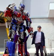 Not only did Universal Studios build a ride based on the ultimate transportation robot designs, they got Steven Spielberg to attend the opening of Transformers: The Ride 3-D. Imagine what they could do with the Hyperloop.