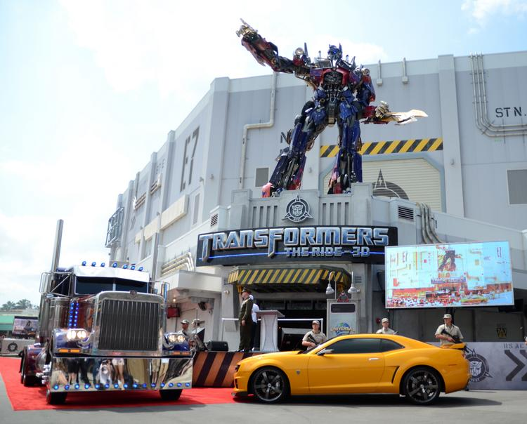 The addition of Optimus Prime and the Transformers at Universal Orlando helped make Comcast look good in its third-quarter report.