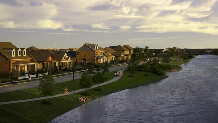 The Howard Hughes Corp. (NYSE: HHC) is developing Bridgeland, located on 11,400 acres about 30 miles northwest of downtown Houston. The Dallas-based developer plans to build up to 21,000 homes in Bridgeland.
