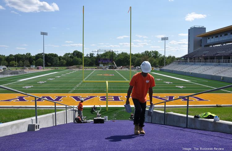 UAlbany's $18 million stadium is on track to be ready before the football team's Sept. 14 home opener against Rhode Island.