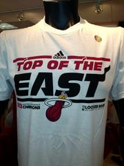 Will this shirt be replaced with NBA Champions on Thursday?
