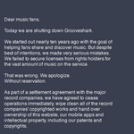 Music streamer Grooveshark goes the way of Aereo after losing court battle