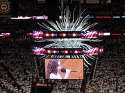The National Anthem experience at a Miami Heat.