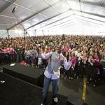 <strong>Donald</strong> <strong>Driver</strong> rallies Kohl's employees to fight against breast cancer: Slideshow