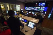 One of three main control rooms at WCNC Charlotte.