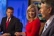 From left: Ira Cronin, Kellie Patterson and Larry Sprinkle on set of WCNC's Charlotte Today.