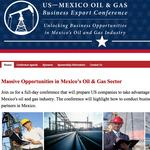 Conference to feature business opportunities in Mexico's energy sector