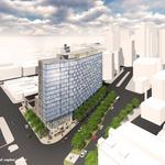 Here's the most detailed look yet at the mixed-use tower planned for the Della Notte site