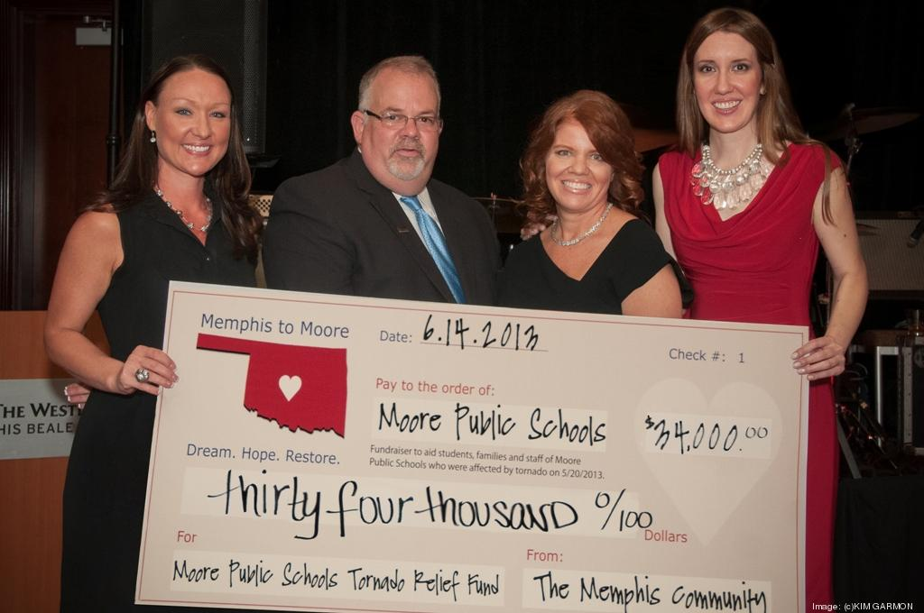 Hether Little Left Moore School Teacher Accepted A Check On Behalf Of